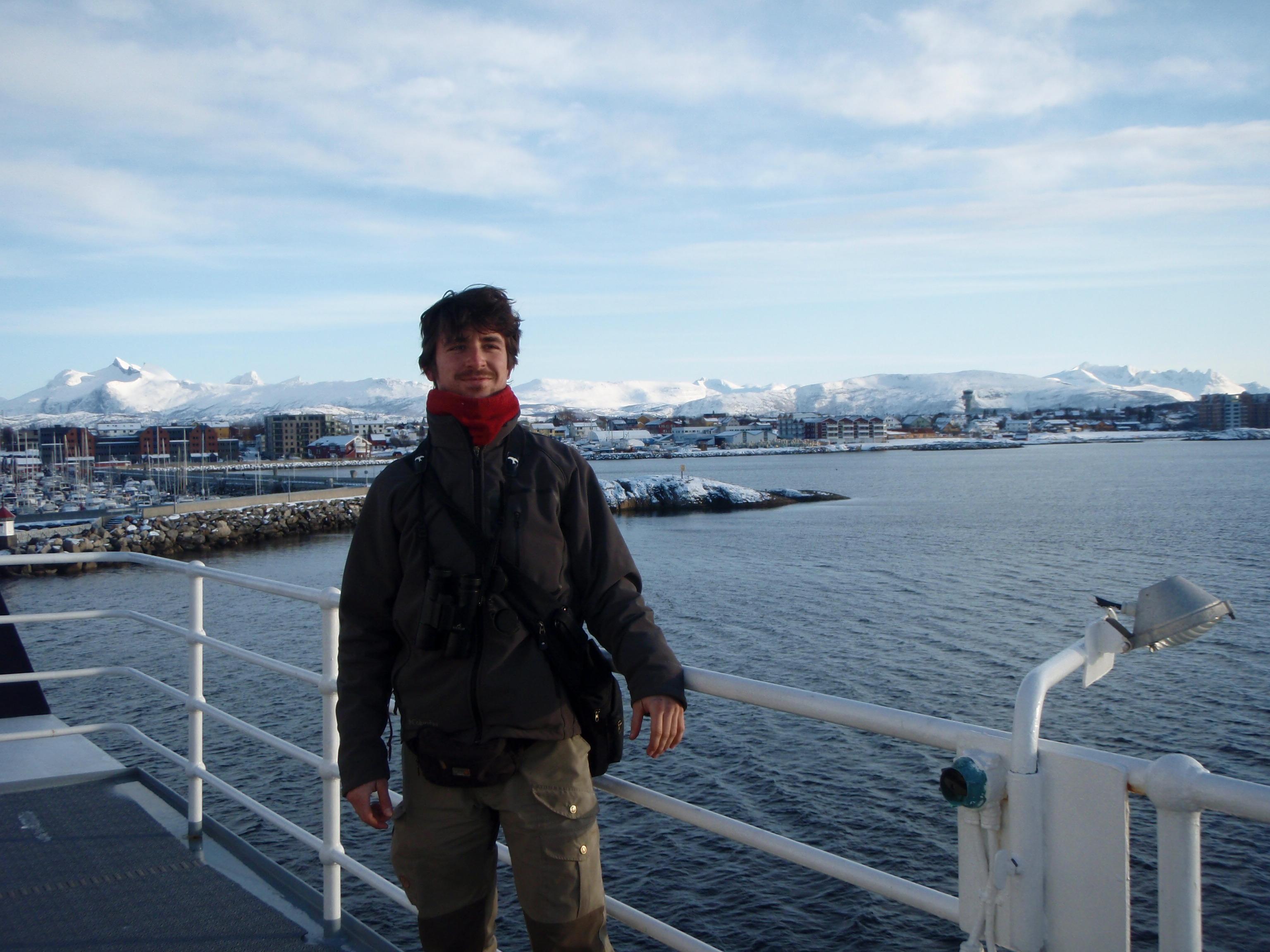 Départ de Bodø pour Å i Lofoten